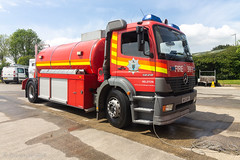 Mercedes Atego 1828 Water Carrier | WK53 BRV | Cornwall Fire and Rescue Service (Helston)