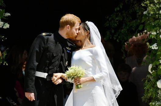 Meghan's wedding gown was beautiful, but the woman wearing it was unforgettable
