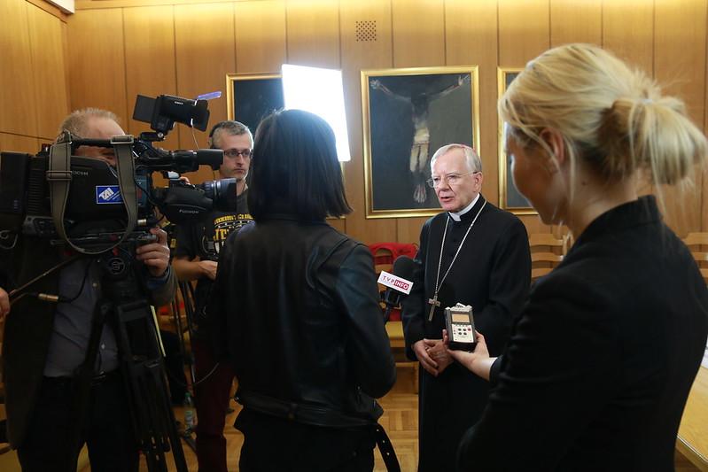 Konferencja prasowa o beatyfikacji Hanny Chrzanowskie