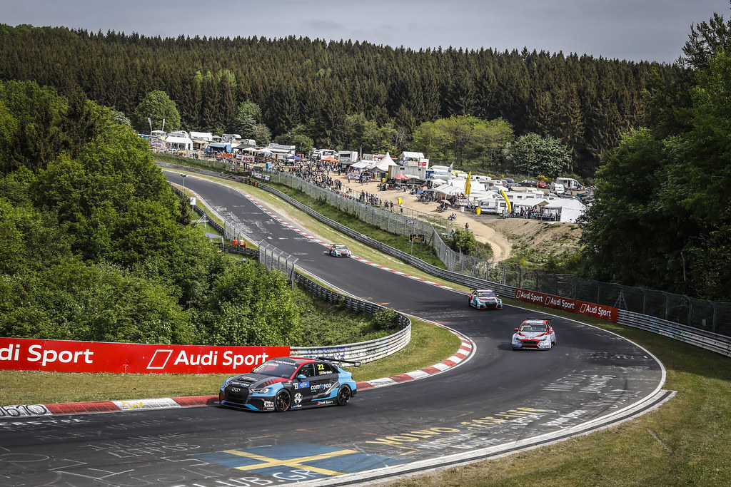 22 VERVISCH Frederic (BEL), AUDI Sport Team COMTOYOU, Audi RS3 LMS, action during the 2018 FIA WTCR World Touring Car cup of Nurburgring, Nordschleife, Germany from May 10 to 12 - Photo Francois Flamand / DPPI
