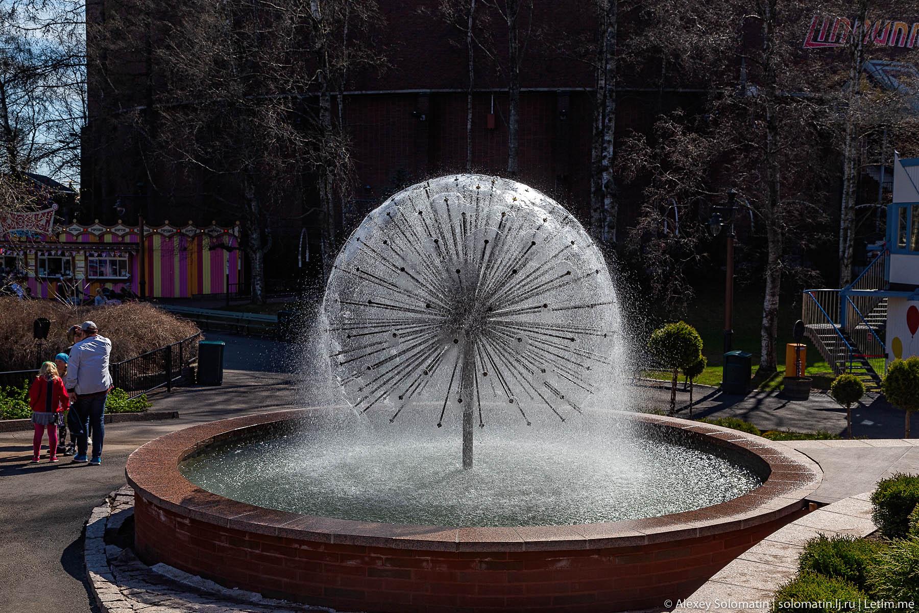 Парк развлечений Линнанмяки в Хельсинки
