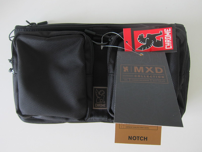 Chrome MXD Notch All Black - Front With Tags