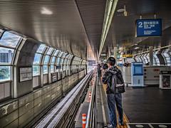 大阪モノレール 千里中央駅で I