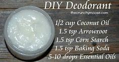 DIY Nontoxic Deodora
