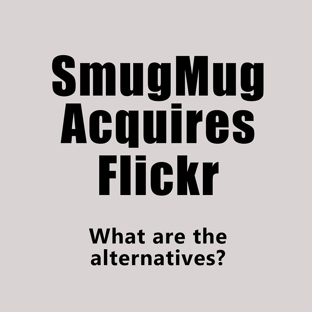 SmugMug Acquires Flickr & Flickr Alternatives for Second Life Residents