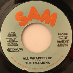 THE EVASIONS:WIKKA WRAP(LABEL SIDE-B)
