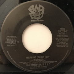 THE NOTRIOUS B.I.G.:BIG POPPA(RADIO EDIT)(LABEL SIDE-B)