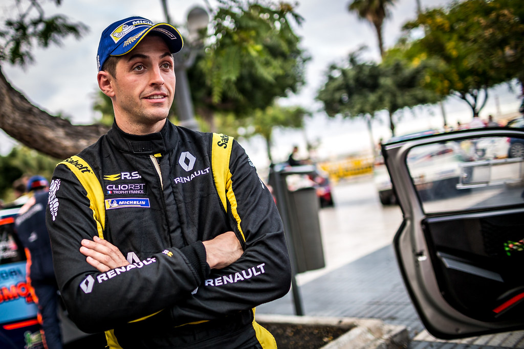 BERNARDI Florian, Team Bernardi Florian, Renault Clio R.S., portrait during the 2018 European Rally Championship ERC Rally Islas Canarias, El Corte Inglés,  from May 3 to 5, at Las Palmas, Spain - Photo Thomas Fenetre / DPPI
