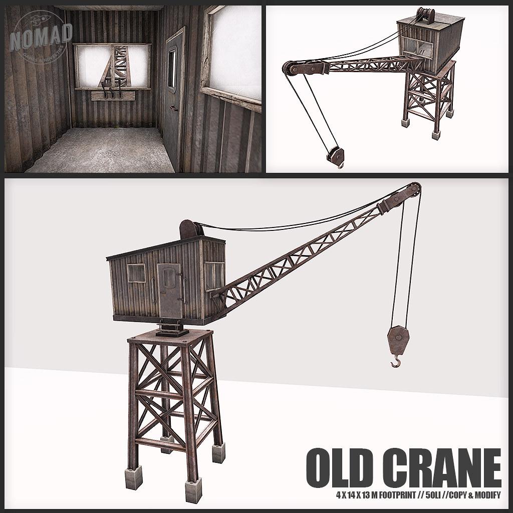 NOMAD // ALASKAN PORT // Old Crane