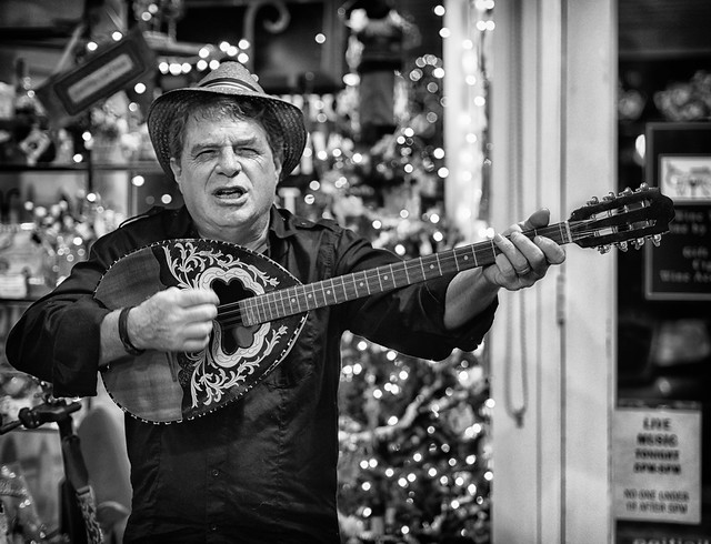 Photo:The Man With the Mandolin By Anne Worner