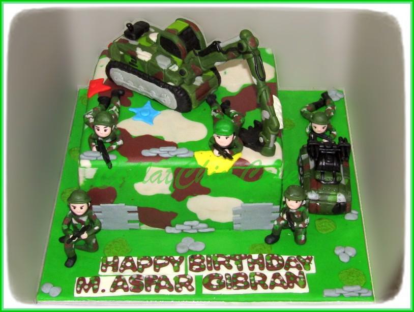 Cake ARMY M. ASFAR GIBRAN 20 cm