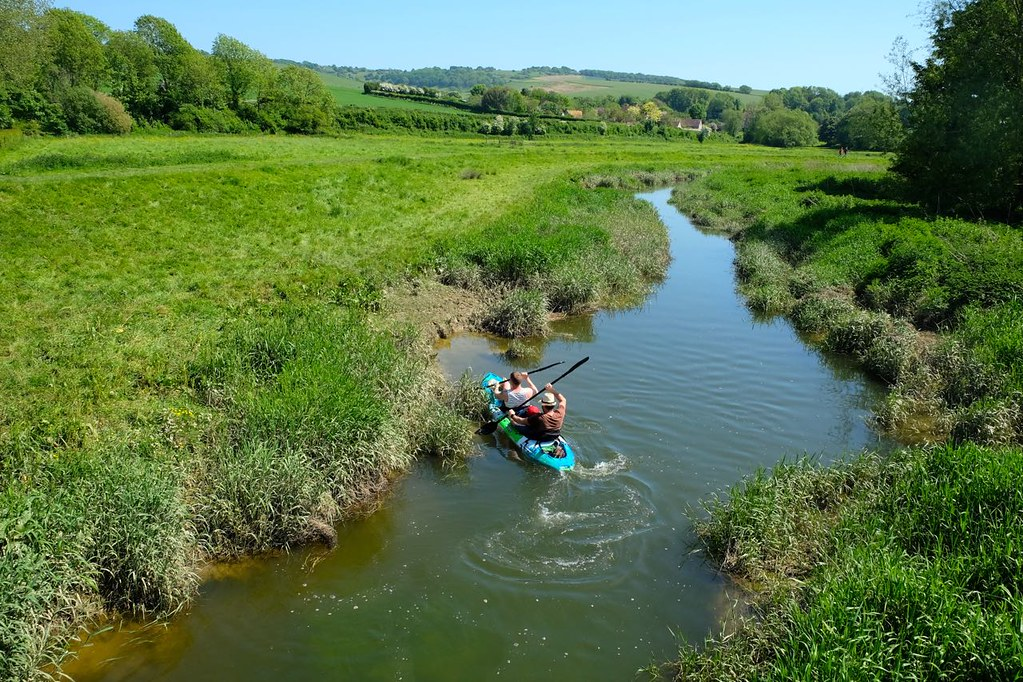 BTS 146 The Cuckmere River in Alfriston