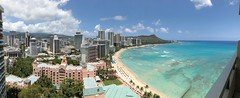 View from the Sheraton Waikiki