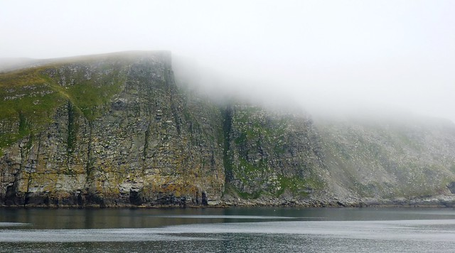 Fog Rolling In, Shetland Islands, Scotland