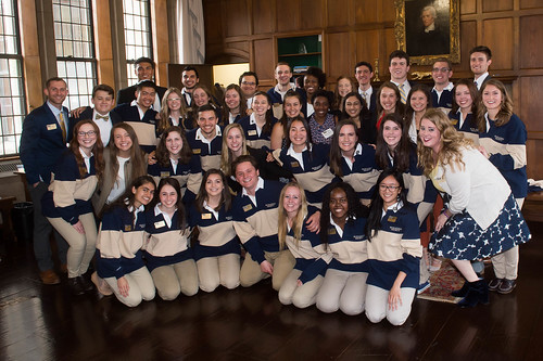 2018 - Blue and Gold Society Inductions Gallery