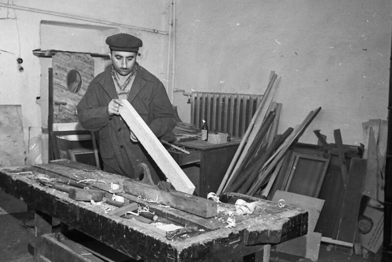 Лица советской эпохи. Часть 336. 1962-1964. Индустриальный техникум (ОТЭП) в Орджоникидзе