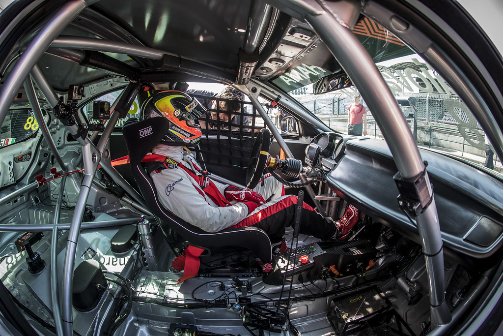 GIOVANARDI Fabrizio (ITA), Team Mulsanne, Alfa Romeo Giulietta TCR, portrait during the 2018 FIA WTCR World Touring Car cup, Race of Hungary at hungaroring, Budapest from april 27 to 29 - Photo Gregory Lenormand / DPPI