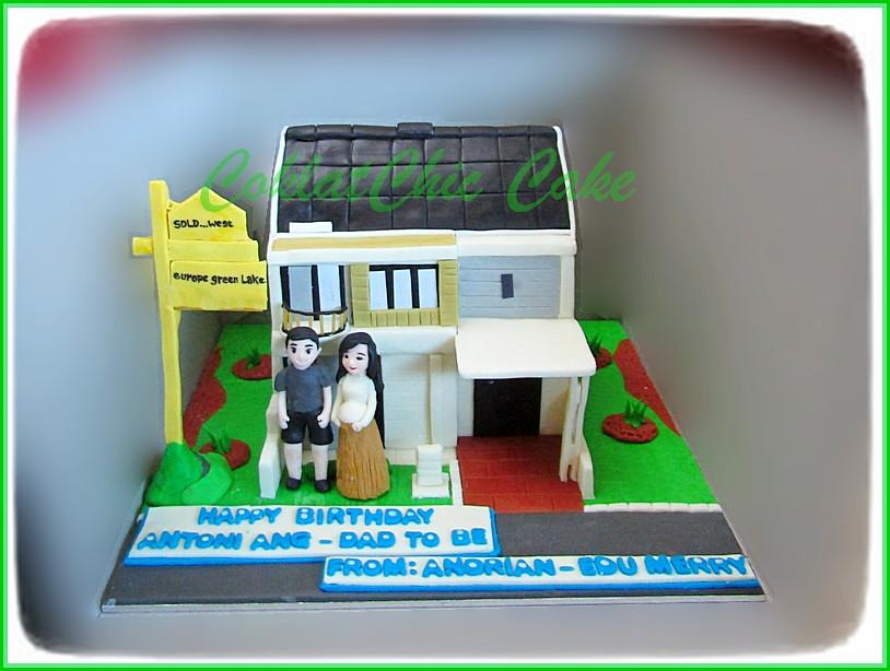 Cake Rumah - ANTONI ANG 15 cm