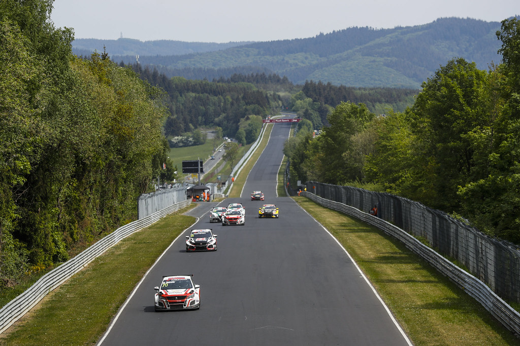 70 HOMOLA Mato (SVK), DG Sport Competition, PEUGEOT 308TCR, action during the 2018 FIA WTCR World Touring Car cup of Nurburgring, Nordschleife, Germany from May 10 to 12 - Photo Florent Gooden / DPPI