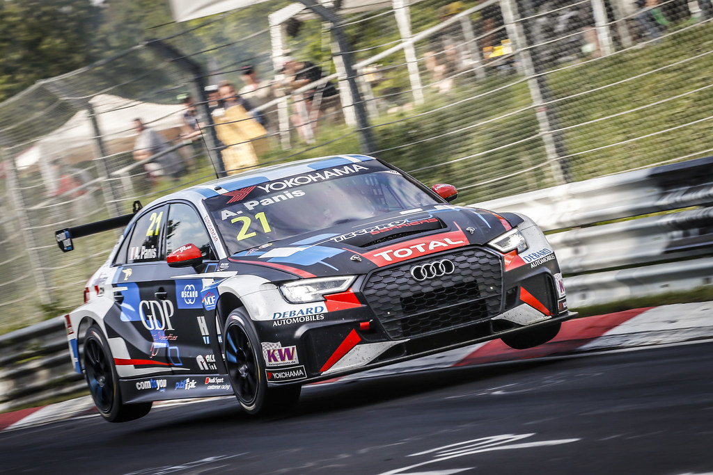 21 PANIS Aurelien (FRA), Comtoyou Racing, Audi RS3 LMS, action during the 2018 FIA WTCR World Touring Car cup of Nurburgring, Nordschleife, Germany from May 10 to 12 - Photo Francois Flamand / DPPI