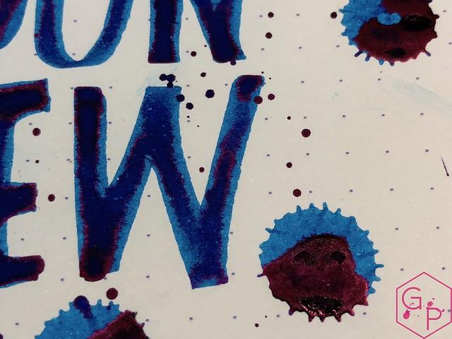 Krishna Inks Moonview Fountain Pen Ink Review @PenChalet 16