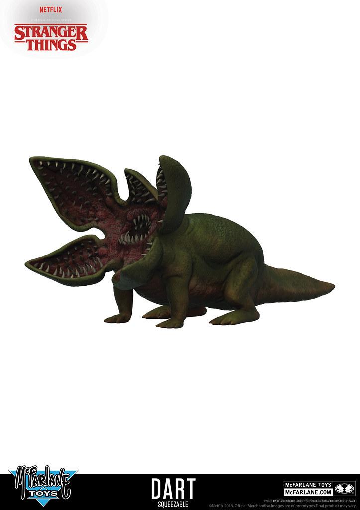 史上最暴力、最恐怖的寵物來啦~~ McFarlane Toys《怪奇物語》達達 Dart Squeezable Toy