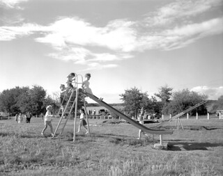 Playground in Dillberry Provincial Park, Alberta