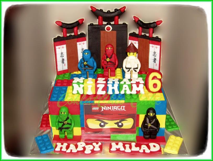 Cake Ninjago NIZHAM 20 cm