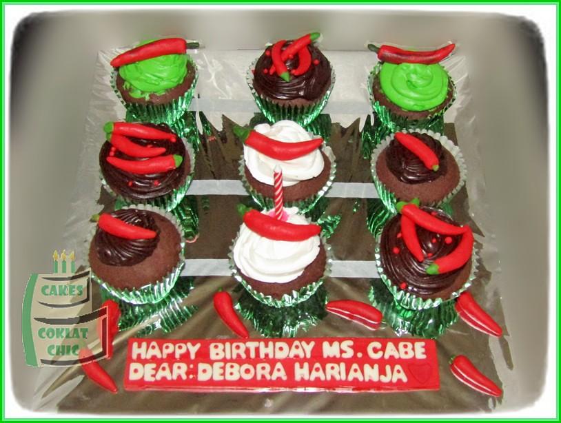 Cupcake set Cabe - Ms Cabe