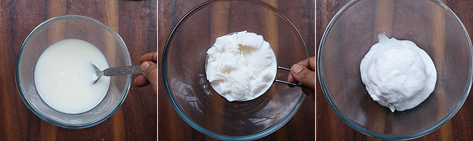 How to make oreo ice cream recipe - Step2