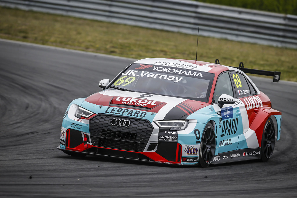 69 VERNAY Jean-Karl, (fra), Audi RS3 LMS TCR team Audi Sport Leopard Lukoil, action during the 2018 FIA WTCR World Touring Car cup of Zandvoort, Netherlands from May 19 to 21 - Photo Francois Flamand / DPPI