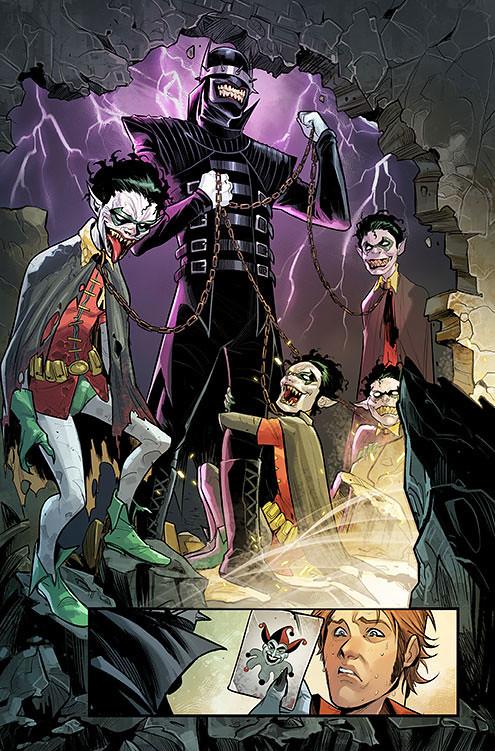 令人不寒而慄的恐怖身影!! Diamond Select Toys DC Comics【大笑蝙蝠俠】Batman Who Laughs 全身雕像作品