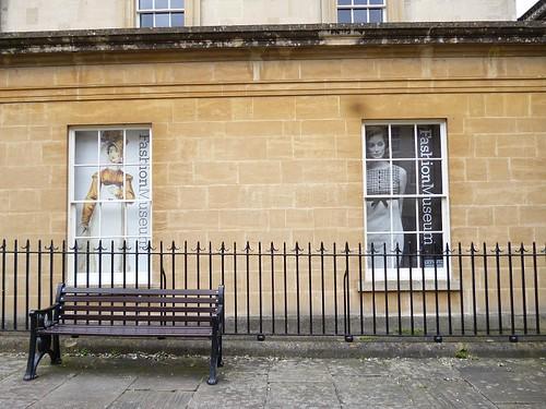 Fashion museum Bath - windows