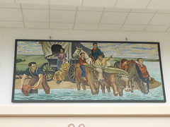 Storm Lake Post Office Mural