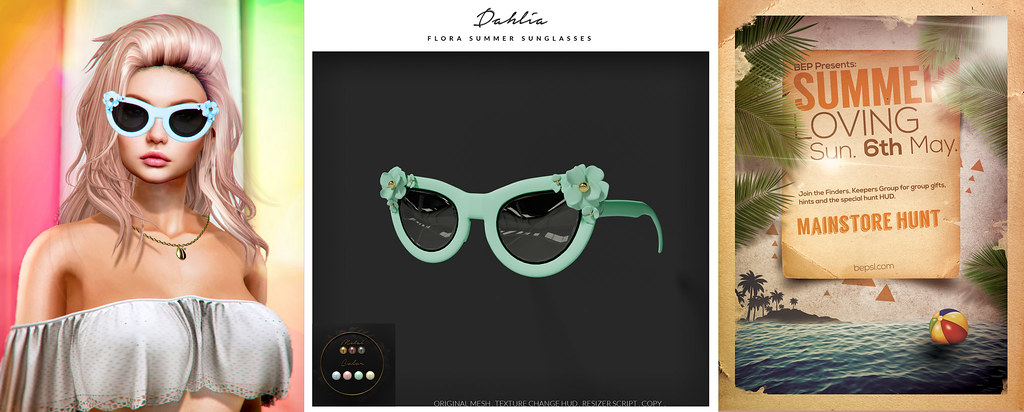 Dahlia – Flora Summer Sunglasses – Summer Hunt