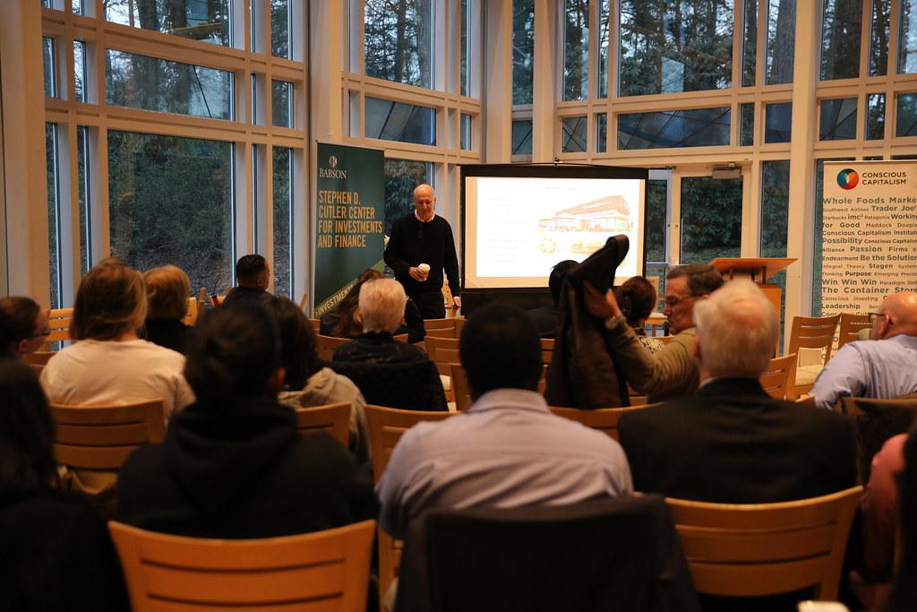 Conscious Capitalism Distinguished Speaker Series: Ron Sha