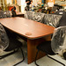 Magnum American walnut boardroom table E380 2100*1000