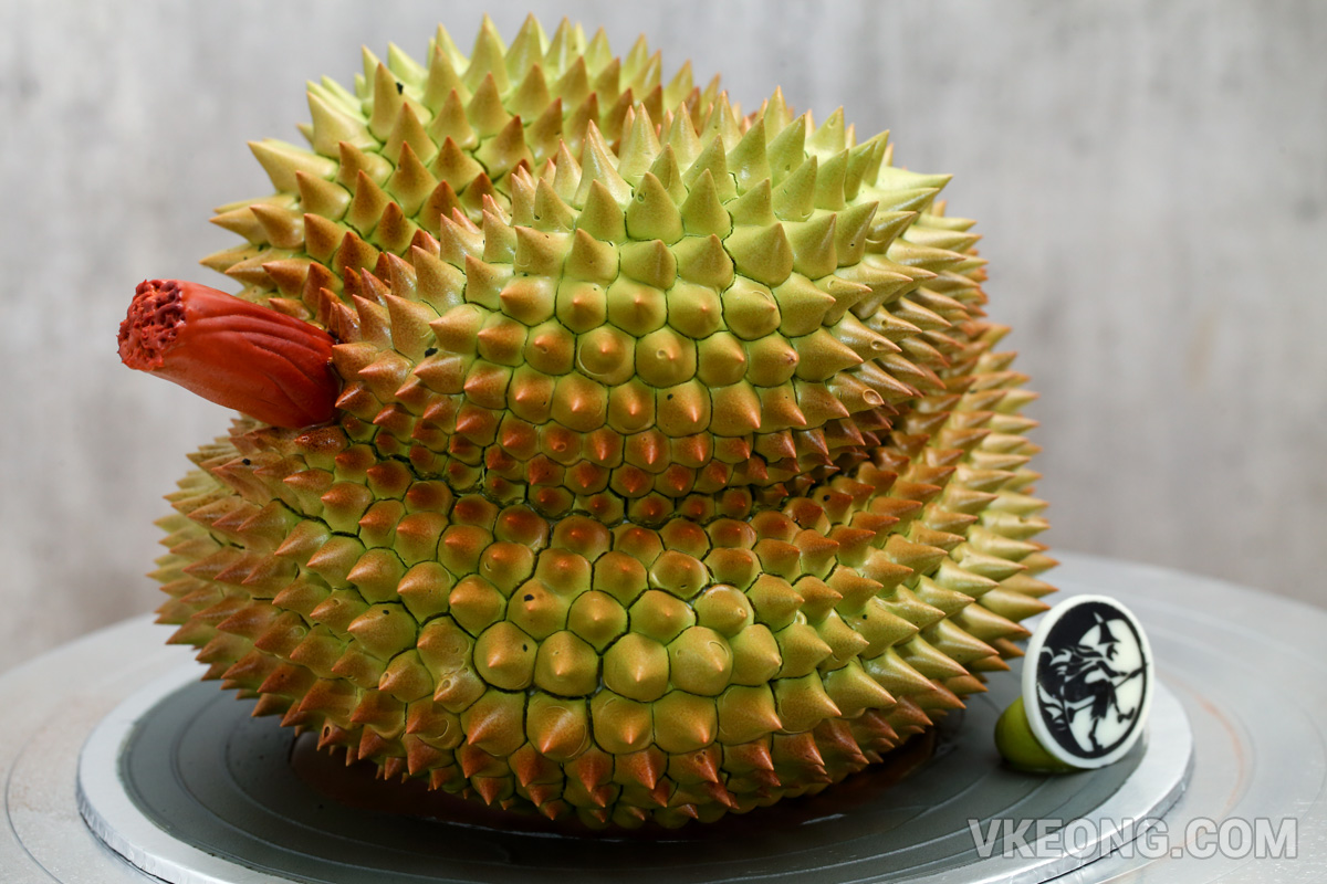 3d Musang King Fresh Durian Cream At Moonlight Cake House