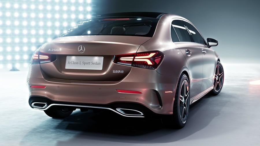 Mercedes A-Class L Sport Sedan 4