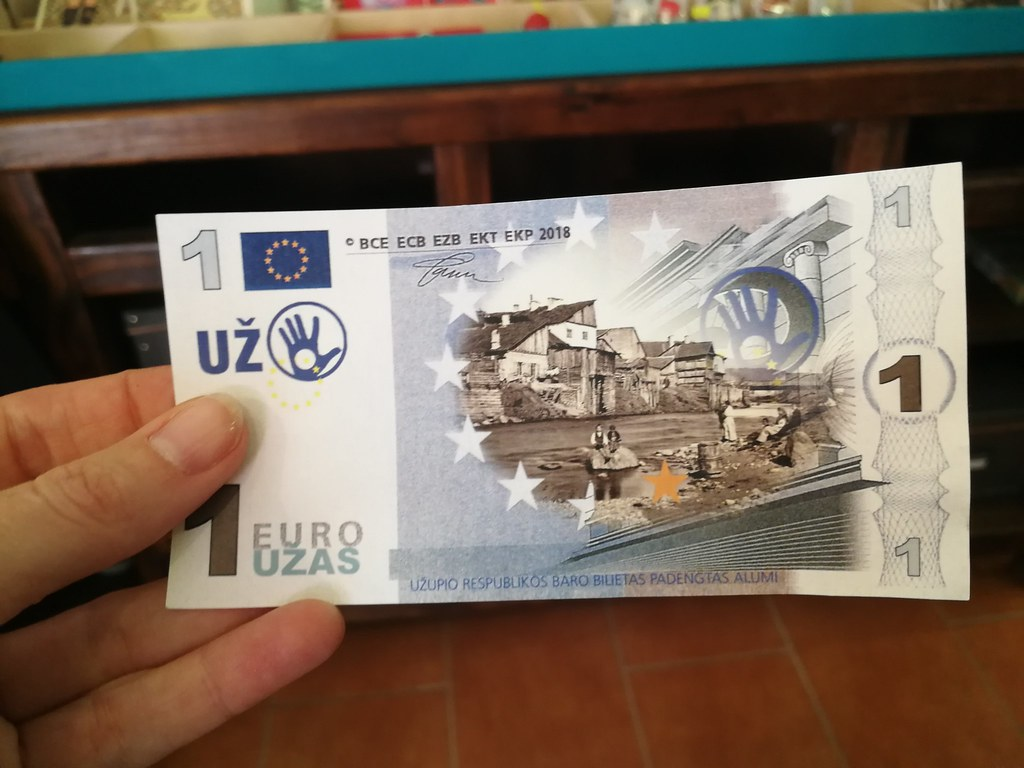 The currency of Uzupis