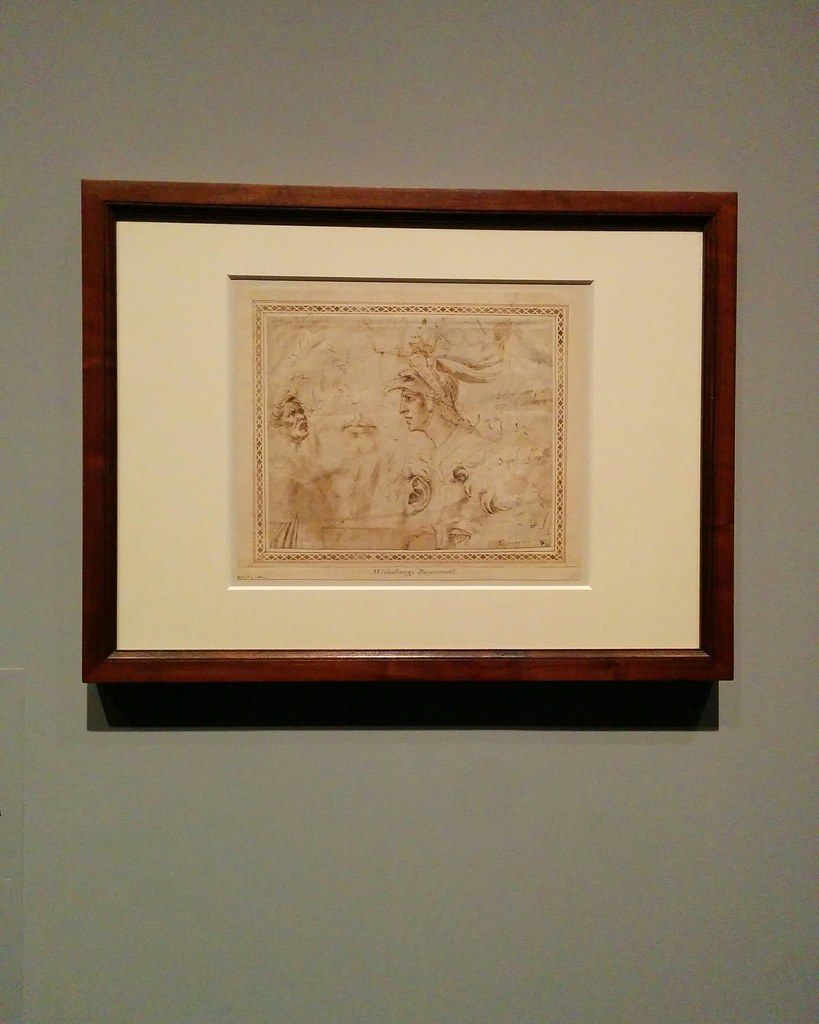 Sketches of Male Heads #newyorkcity #newyork #metmuseum #metmichaelangelo #michaelangelo #drawing #latergram