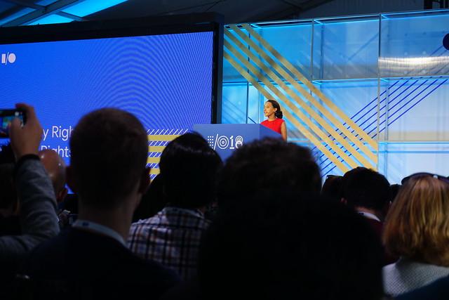 Haben Girma at Google IO 2018