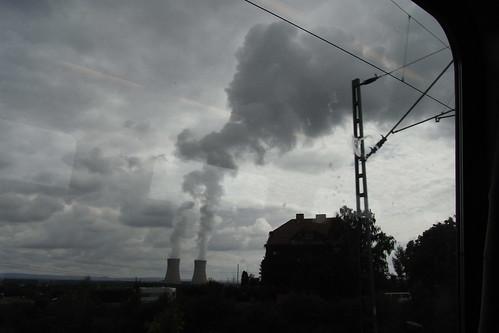 20100902 186 Jakobus Heimfahrt Kraftwerk Rauch Wolken