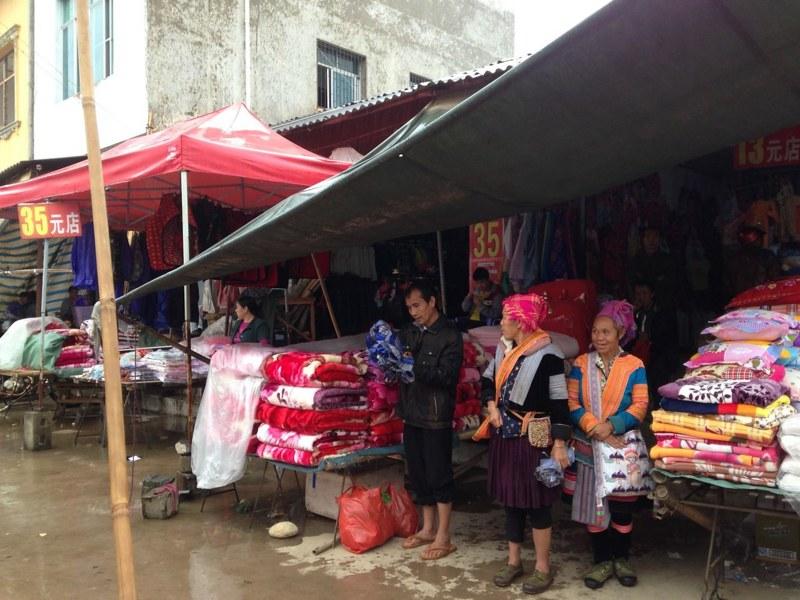 那発(金水河)から勐拉のマーケットを見に行く, 5