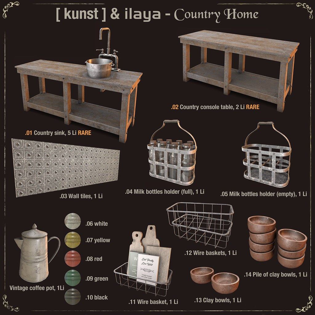 [ kunst ] & [ILAYA] – Country home