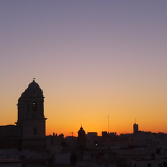 Sunset in Cádiz...