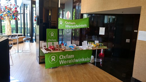 Oxfam-stand Septestraat