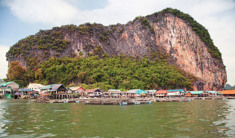 Sea Gipsy Village in Phang Nga Bay