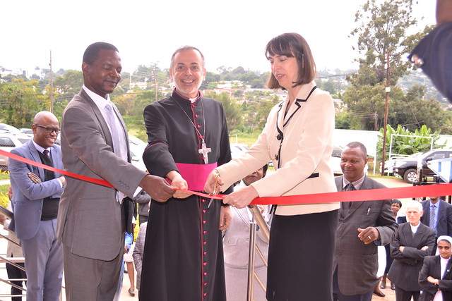 St Theresa's maternity wing opening