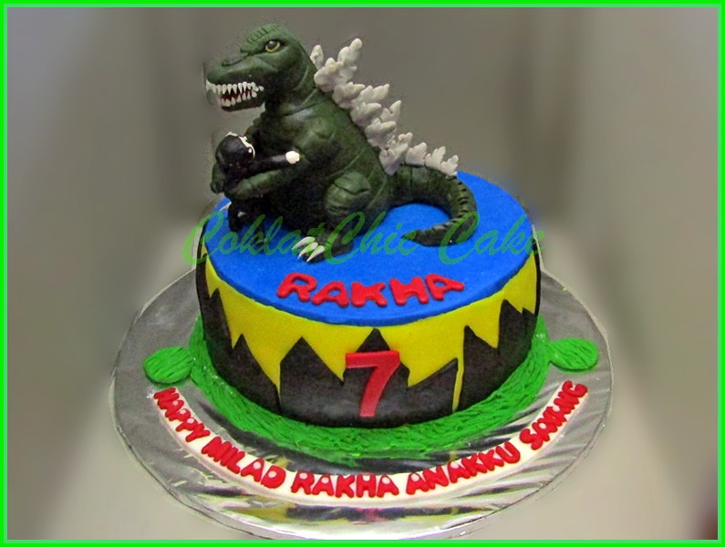 Cake Godzilla RAKHA 15 cm